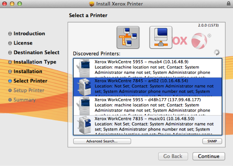 Public Printing - Mac OS X users | Art and Art History