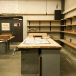 An image of the wood shop