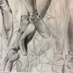 Meghan Smith ballet shoes sketch