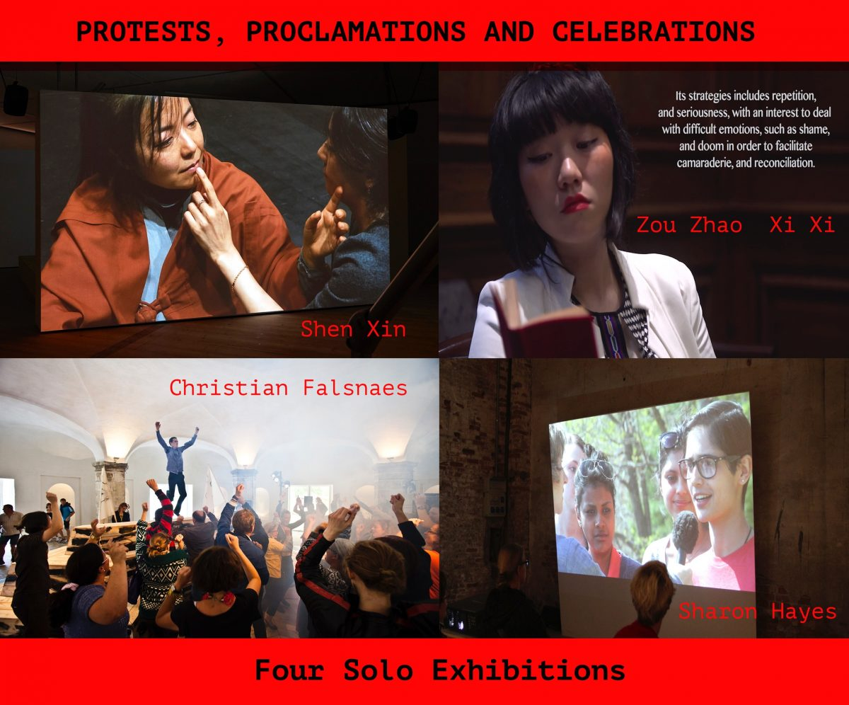 Gallery Exhibit: Proclamations, Protestations, and Celebrations