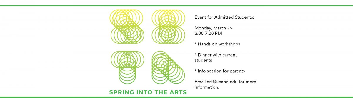 Spring into the Arts Mar 25, 2019