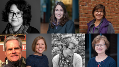 headshots of the 2020-2021 UConn Faculty Fellows