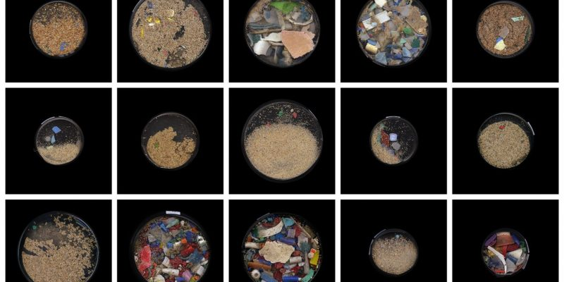 Sand and Plastic Collection